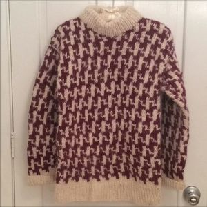 Mad River Imports Sweater Handknit in Ecuador